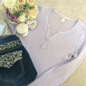 💜❄️💜Victoria's Secret Lilac Sweater Size Medium